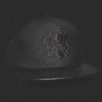 ab1bb8cce74f21 DROP N THROTTLE LEATHER PEAK BASEBALL CAP